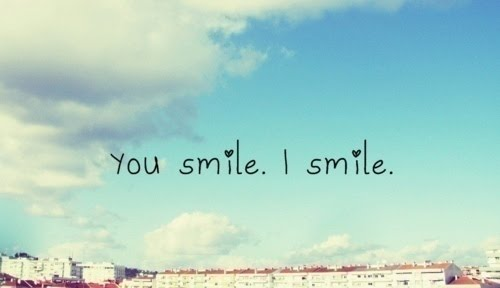 Smiling is sometimes difficult with depression