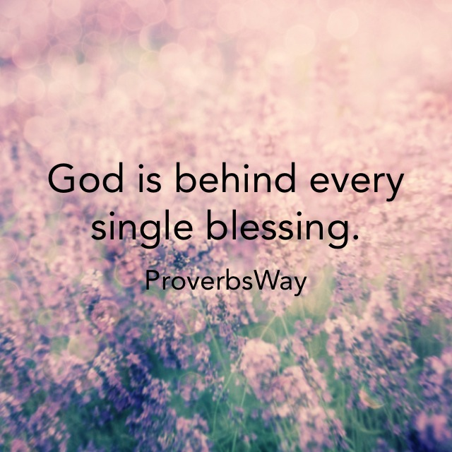 Count Your Blessings Not Your Problems – Proverbs Way