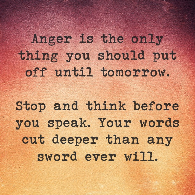 ANGER = WEAKNESS! Control Your Temper or It Will Control You